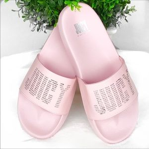Juicy Couture Pink Studded Mules